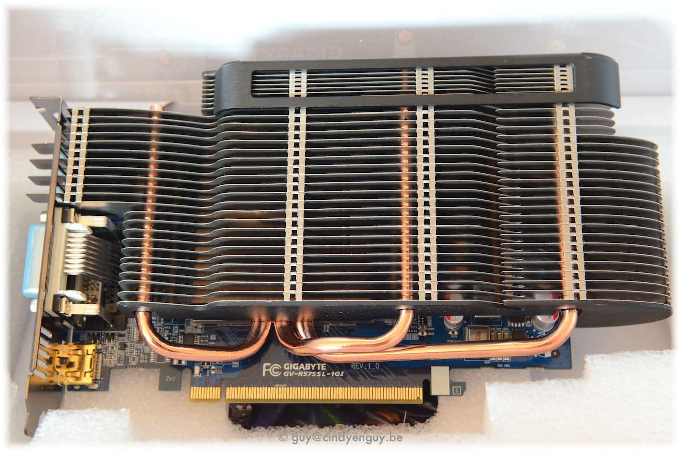 Gigabyte Ati Radeon HD 5750 Passive 1GB (GV-R575SL-1GI)