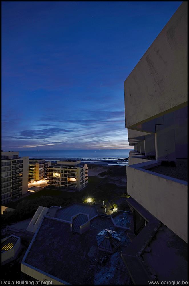 Dexia Building at night 5