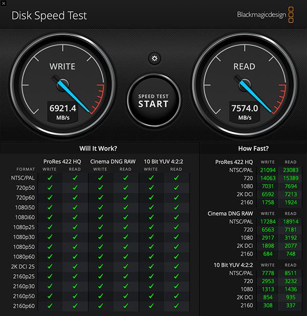 Speedtest RAM 2